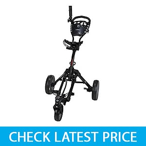 Caddymatic Golf 360 SwivelEase 3 Wheel Folding Golf Cart