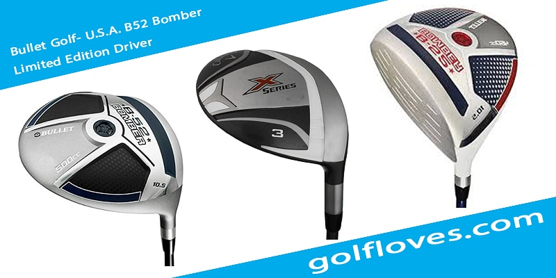 Bullet Golf- U.S.A. B52 Bomber Limited Edition Driver