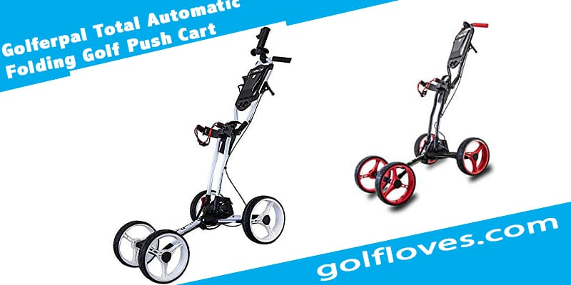 Golferpal Total Automatic Folding Golf Push Cart